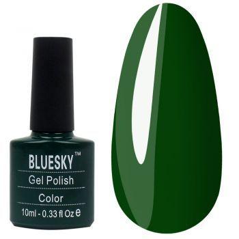 Гель-лак BLUESKY №085, 10 мл- Зеленый маникюр - это очень сочный и насыщенный вариант для ваших ноготков. Лучший выбор на весну или лето. Green manicure is a very juicy and rich option for your marigolds. Best choice for spring or summer