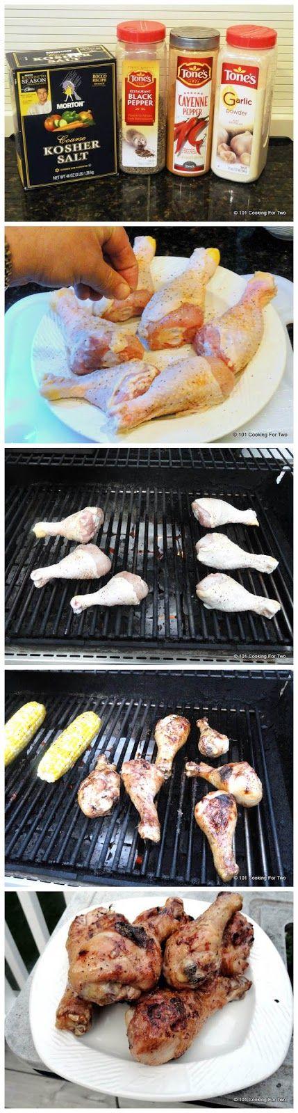 Grilling Chicken Drumsticks