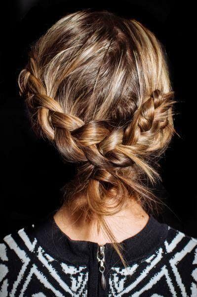 Braided summer bun, #hair