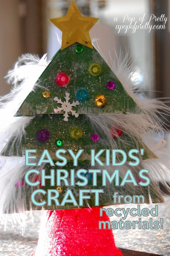 179 best images about recycling art crafts for kids on for Christmas crafts from recycled materials