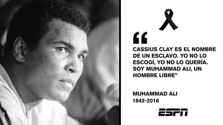 Las frases de Muhammad Ali