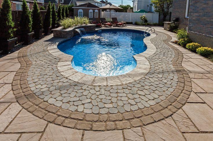 Pavé PORTOFINO : le complément parfait pour votre piscine! #Trevi