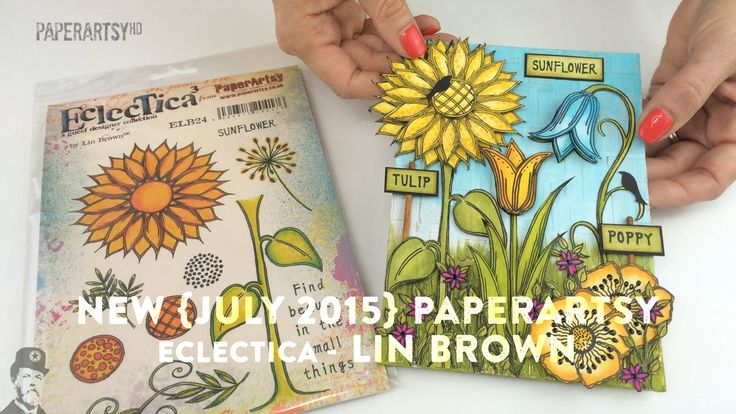 New PaperArtsy Products {July 2015}: Lin Brown