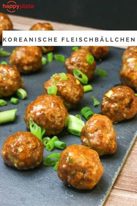 Koreanische Fleischbällchen