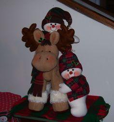muñecos de navidad patrones - Google Search