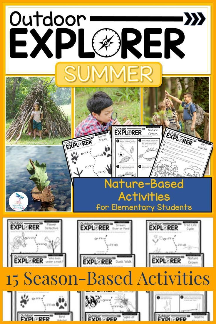 Outdoor Explorer Summer Science And Nature Activities Nature Activities Science And Nature Summer Science