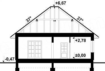 Casă de vis cu arhitectură tradițională de 74 mp Locuința în care ne desfaşurăm viața de zi cu zi nu reprezintă doar ziduri și obiecte, ci o adevărată poar