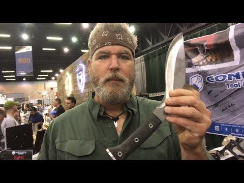 Alan Kay ALONE K-TACT Kukri: One Tool Option for Survival, Bushcraft, Outdoors - YouTube