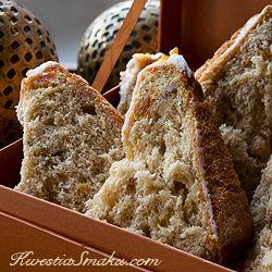 Panettone - babka z pomarańczą i białą czekoladą