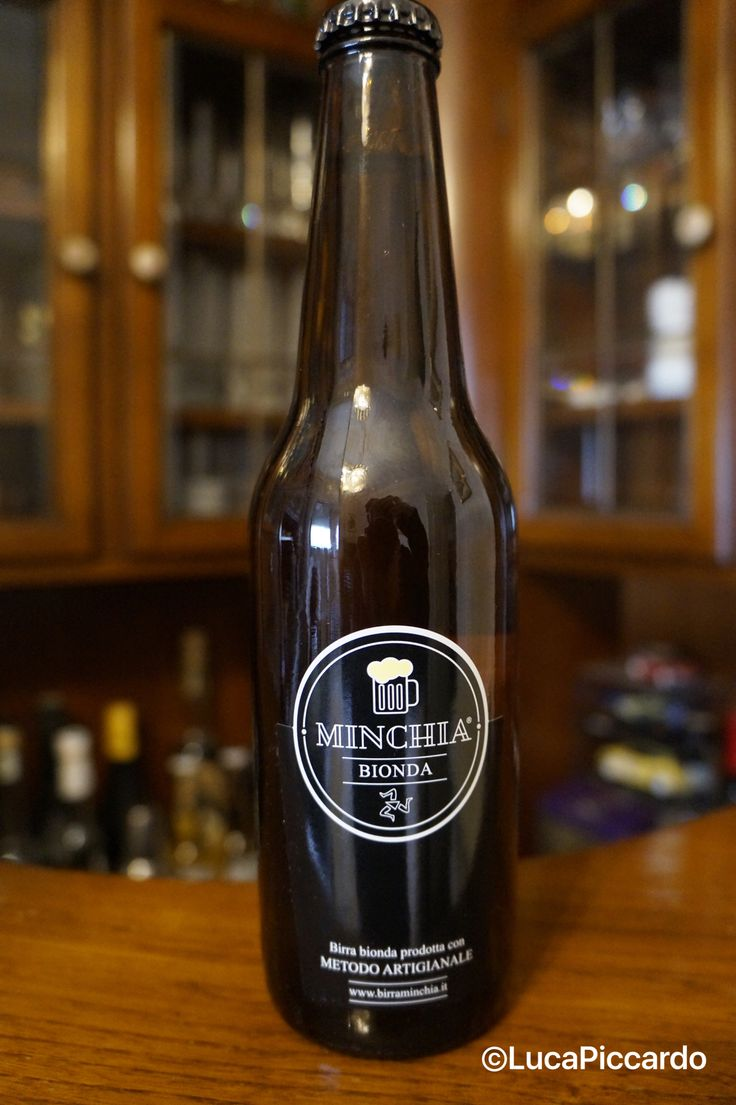 "Birra siciliana ""Minchia"""