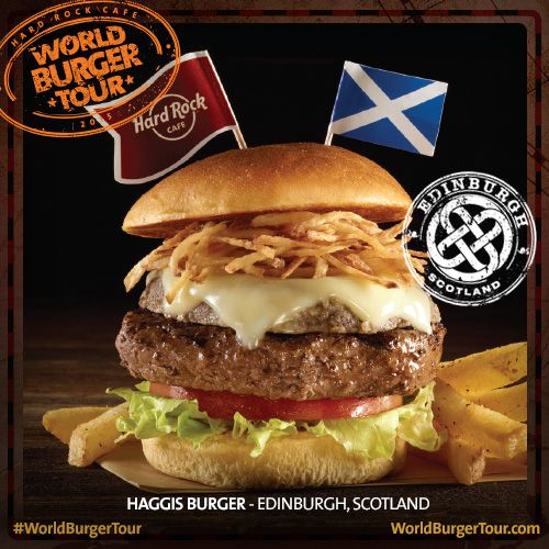 Haggis #Burger #Edinburgh #WordBurgerTour