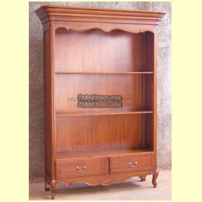 French Open Bookcase Refrence : RBC 009 Dimension : 136 x 45 x 210 cm Material : #WoodenMahogany Finishing : #Custom Buy this #Bookcase for your #homeluxury, your #hotelproject, your #apartmentproject, your #officeproject or your #cafeproject with #wholesalefurniture price and 100% #exporterfurniture. This #FrenchOpenBookcase has a #highquality of #AntiqueFurniture #IndustrialFurniture #WoodenFurniture #ClassicFurniture #NaturalFurniture #FurnitureWarehouse