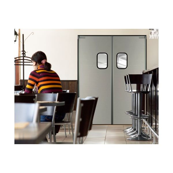 Swinging kitchen doors commercial wow blog for Swinging kitchen doors residential