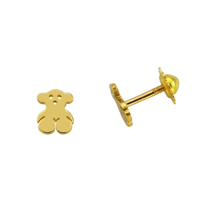 TOUS Bear - TOUS baby earrings {just in case it's a girl-- she has to have her ears pierced right away!}