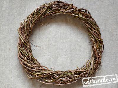 Grapevine Wreaths. DIY: How to Make a Wreath. Венки из виноградной лозы. Как сделать основу для венка.