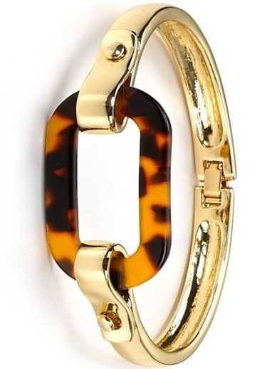 Lauren Ralph Lauren Tortoise Shell Link Bangle Bracelet ♥✤ | Keep the Glamour | BeStayBeautiful