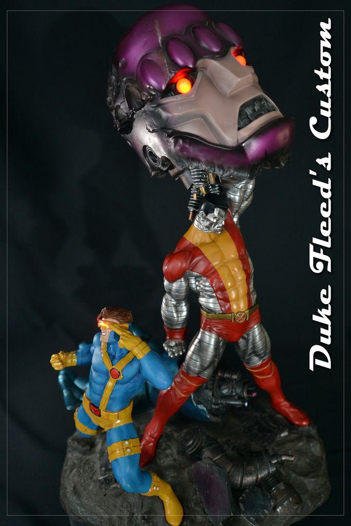 Xmen vs Sentinel Sideshow Jim lee cyclop