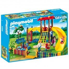 Square pour enfants avec jeux Playmobil City Life - 5568