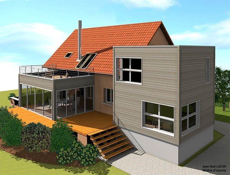 pin von frau mani auf haus aufstocken erweitern pinterest haus aufstocken hausanbau und anbau. Black Bedroom Furniture Sets. Home Design Ideas