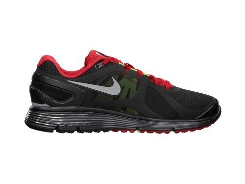 Nike Lunareclipse+2 Black/Reflective Silver-University Red-Wolf Grey