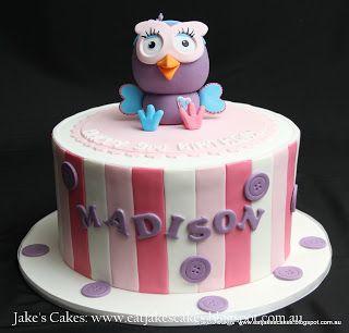 Jake's Cakes: Hootabelle Cake