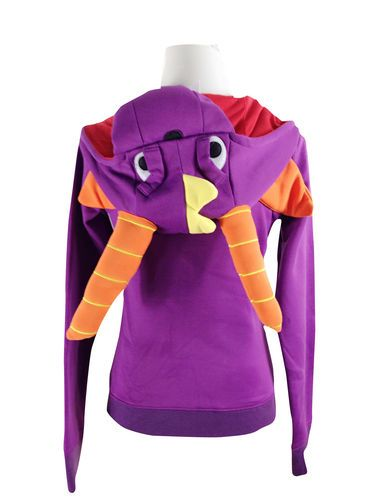 Japan Anime Spyro the Dragon Zip UP Hoodies Jacket Coat Sweatshirt Animal Costume | eBay