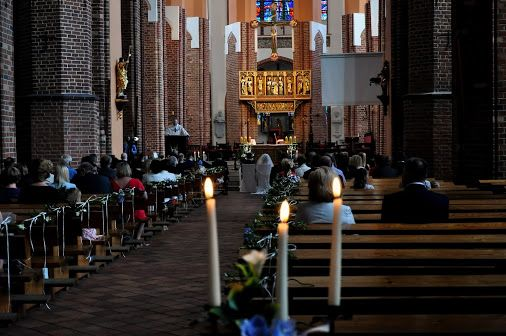 Poland Polen Szczecin Katedra Cathedral