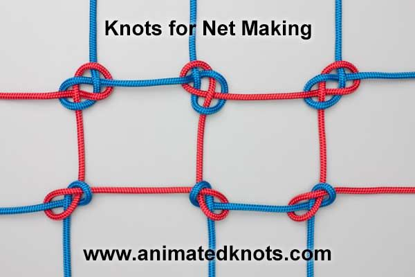 Sheet Bend (Becket Bend)....for netting