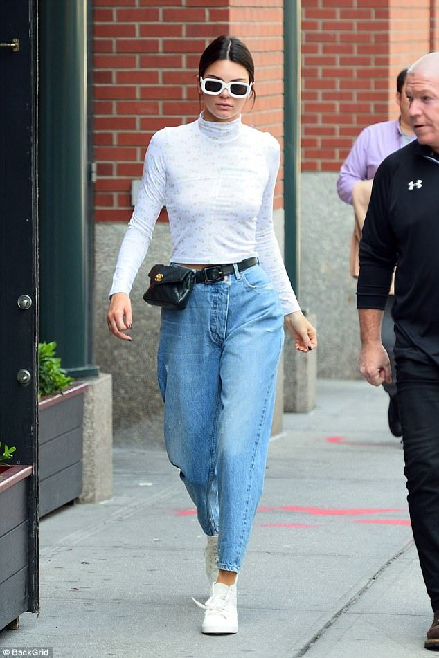 New job who dis? As they world found out about her new partnership with Adidas, Kendall headed out in New York