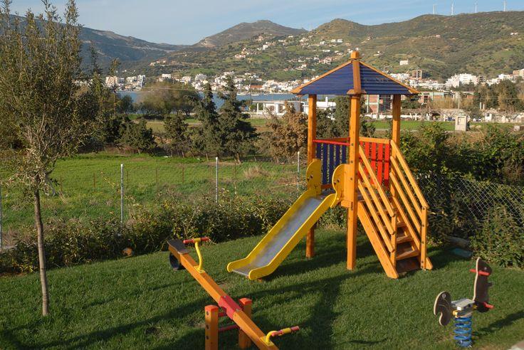 Family vacations...we have a playground #alykeshotel #alykes #alykeshotel #marmari #evia #relax #vacations #greece #μαρμάρι #αλυκες #summer
