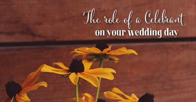 What does a marriage celebrant do? http://www.southernbride.co.nz/what-role-does-the-celebrant-play-in-your-wedding-day/