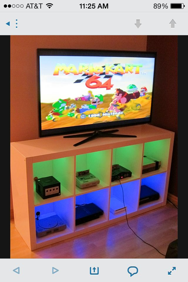 Game system organizer. TV can also be used for good, serving as a tool of entertainment for individuals and families and also as an educational tool. People can bond and learn over a TV watching session.