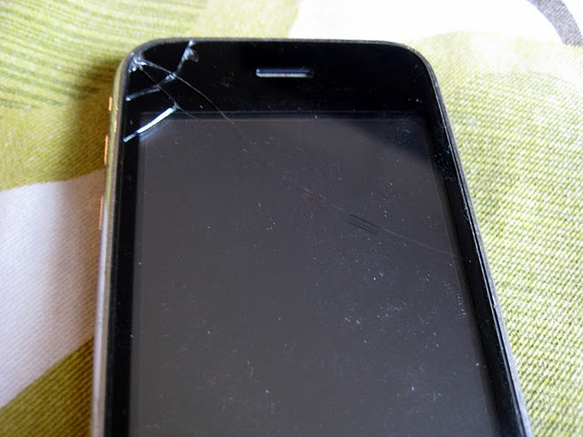 How to replace the glass on your iphone. Kind of risky if you want to keep the warranty intact, though...