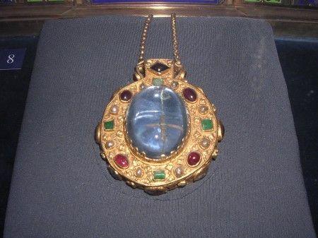 Talismano di Carlo Magno gioiello antico appartenuto al grande Imperatore- ora si trova nella cattedrale di Reims -Francia-