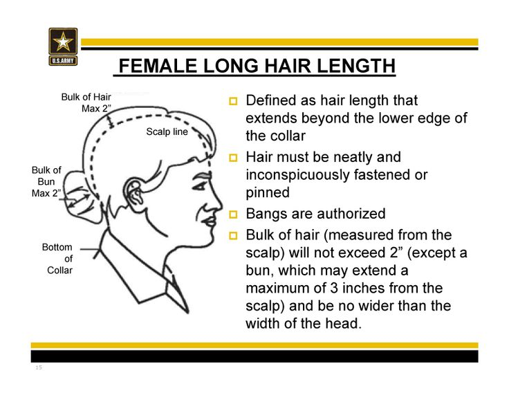 New Army hair regulations - AR 670-1 as of 31 March 2014 #longhair