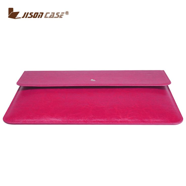 Jisoncase Genuine Leather Case for MacBook Pro 13 Leather Bags Retina Laptop Bag