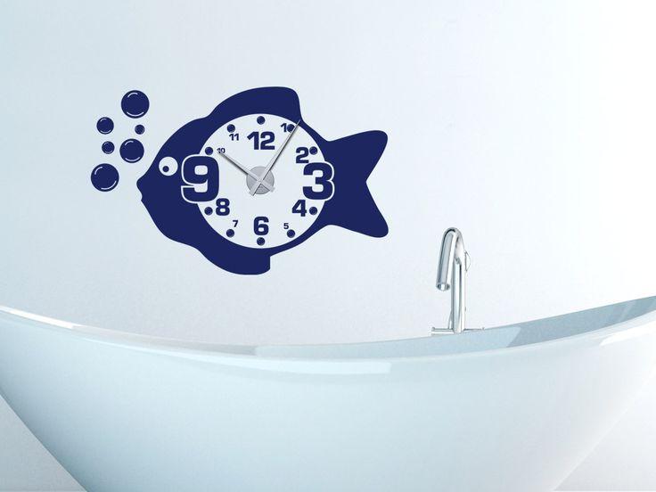 31 besten Wanduhren Bilder auf Pinterest Wandtattoo uhr - Wandtattoos Fürs Badezimmer