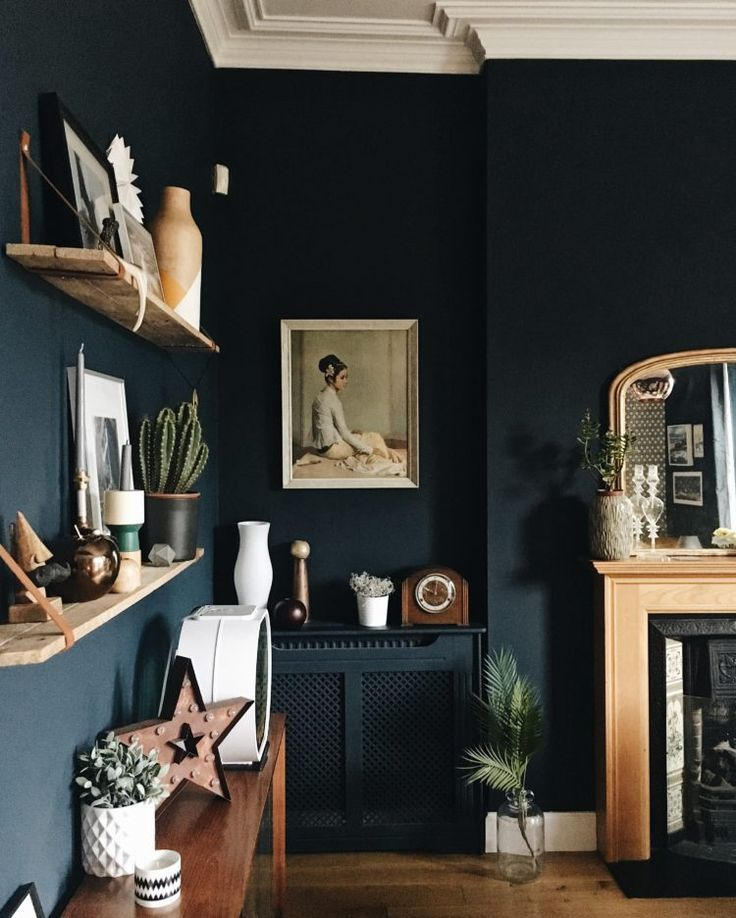 10 Beautiful Rooms. Dark Blue ...