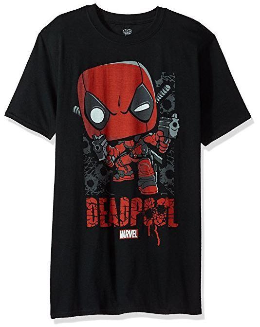 Funko Pop! Marvel Deadpool T-Shirt (affiliate link)