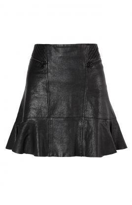 Fashion skirt skjørt skinnskjørt | Stylista.no MER / MORE: http://www.stylista.no/shop