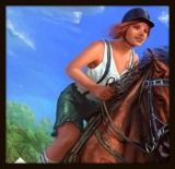 I loved the Horse Star game when it first came out. It had fantastic graphics - and it was free. You could choose a horse from several breeds, choose a