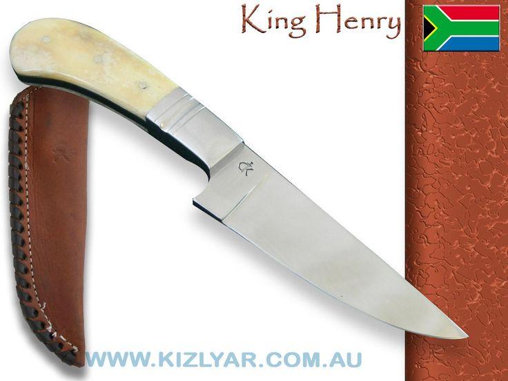 Kappetijn King Henry Hunter, D2 Steel (Camel Bone)
