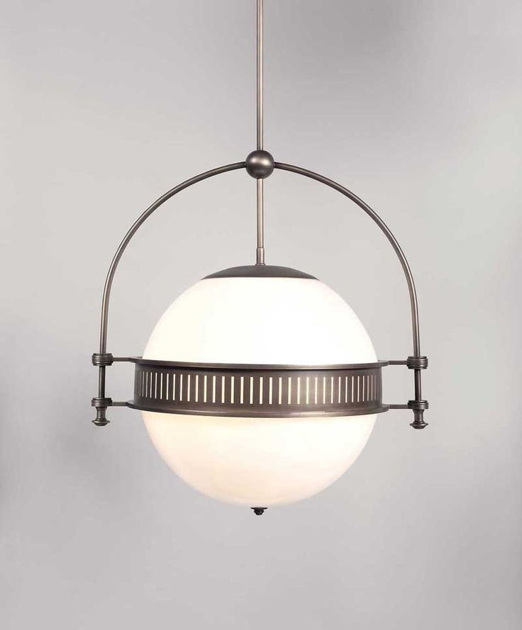 Check out the Dover Ball light fixture from The Urban Electric Co.