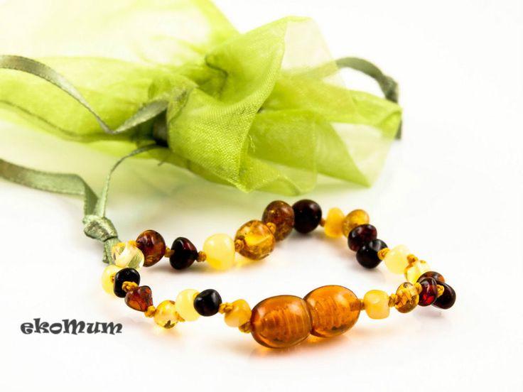 Baby Teething Amber Bracelet Anklet Genuine Baltic  #teething #amber #teethingremedies #teethingremedy #amberjewelry