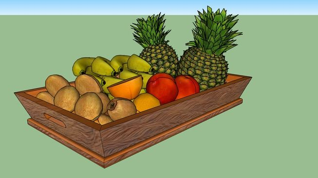 Large preview of 3D Model of Fruteira