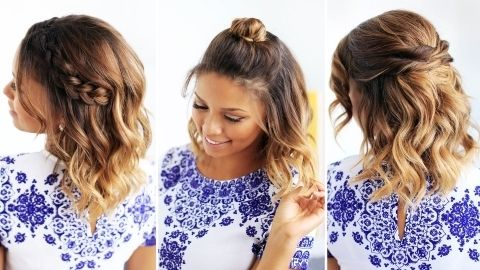 Cute Hairstyles For Girls With Short Hair Photos