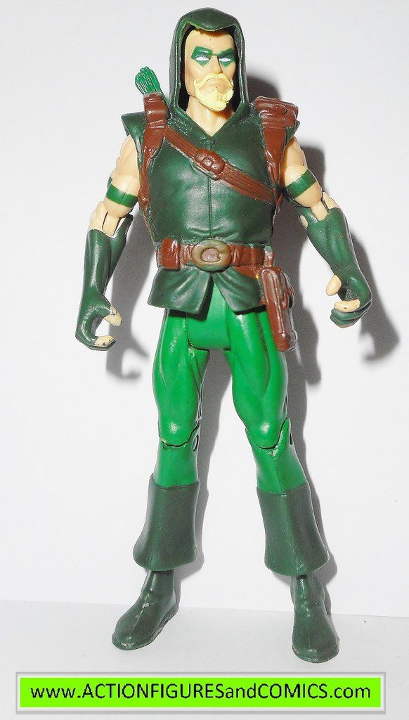 Mattel toys action figures for sale to buy DC UNIVERSE Infinite Heroes Crisis 2008/2009 GREEN ARROW Condition: overall excellent. Figure size: approx. 3.75 inch ---------------------------------------