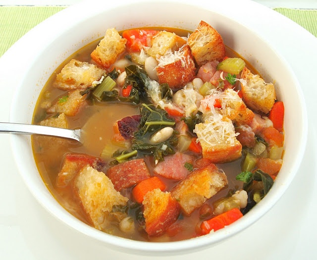 Tuscan Bean Soup is hearty, and just enough different from others like it to make it stand apart.