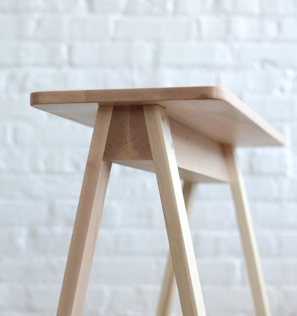//Saw horse table