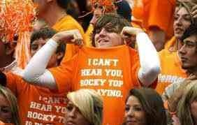 I can't hear you, Rocky Top is playing